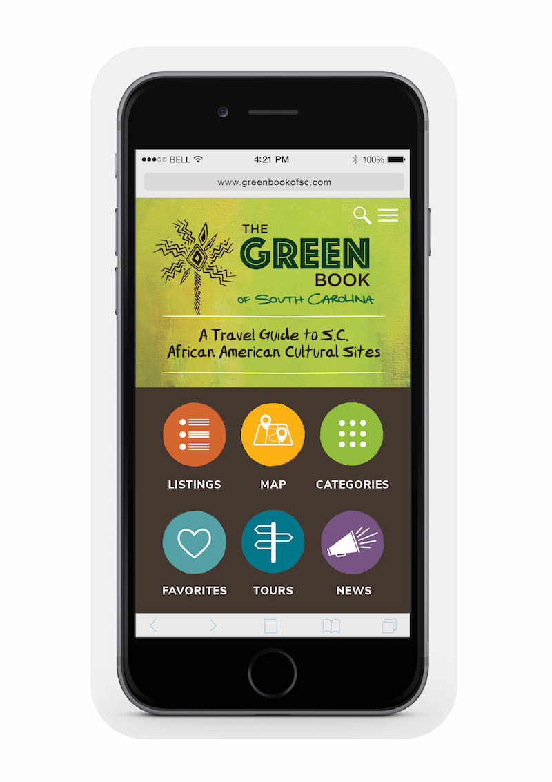 Green Book of SC mobile phone screen photo graphic