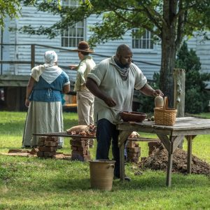 Historic Brattonsville - living history - photo -York County SC