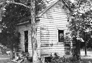 Slave house at Magnolia Plantation, similar to cabin on Edisto from AP story