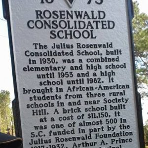 Rosenwald Consolidated School