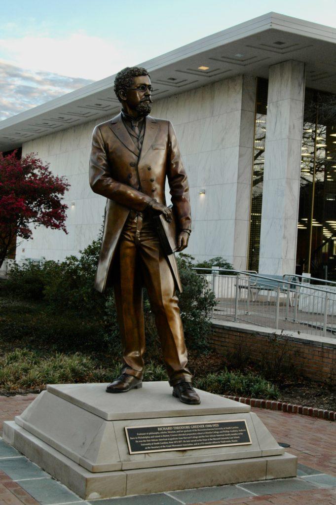 Richard T. Greener Statue, 2020.